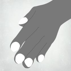 IPF finger clubbing